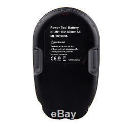 7 x NI-MH 3000mAh 18V XRP Battery Pack For DEWALT DC9096-2 18 Volt Batteries New