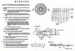 727 PWA 46048 Engine fan rotor strap kit