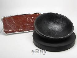 8 German Red Pitch & Bowl Chasing Goldsmith Silversmith Repousse Tools Supplies