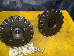 AMG 120624-11 face shell mill 8 inch diameter 8 cat 50 holder Erickson Sandvik