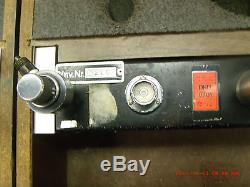 Ametek pneumatic deadweight pressure tester type K, the complete one is left