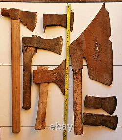 Antique Carpenter Axe Ax Hatchet Marked Rustic for Repair Woodworking Tools Rare