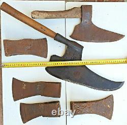 Antique Carpenter Axe Ax Hatchet Museum Value Rare Rustic