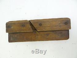 Antique Lot Moulding GW Denison Colton Kennedy Angle Block Planes Planers Tools