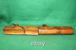 Antique Matching Pair Casey, Kitchel No 18 HollowithRound Moulding Planes Inv#WF29