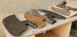 Antique Primitive Carpenter Goose Wing Axe Ax Hatchet Rustic Heavy WoodWorking