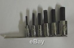 Armstrong Tools 6 Pc. 1/2 Drive Metric Hex Driver Socket Set 44-565 6 8mm