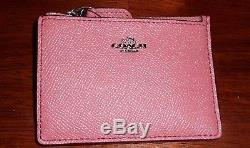 Auth Coach Edie 31 Tea Rose Tooling Leather Tote Bag & Skinny Wallet Bnwt 450.00