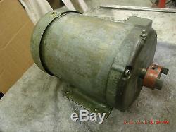 Baldor 2 hp electric motor 220 230 240 v. Volt 3 ph 1725 rpm very silent nice