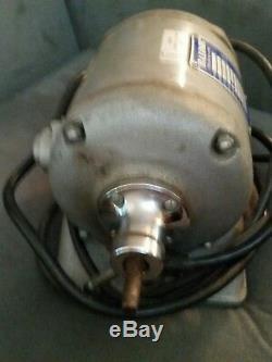Baldor Dental 437B Polishing Polisher Lathe Buffer, CAT 221T, 2 spped. Nice