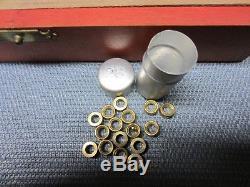 Bergeon Bushing Complete set of machine tools Including brass bush assortment