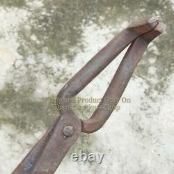 Blacksmith Tongs Set Of 2 Forge Hammer Anvil And Vise Tools