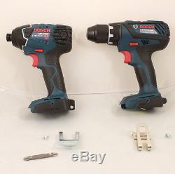 Bosch 25618 Impact Driver + DDS181A 1/2 Drill 18V Li-Ion Brand New