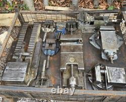 British made Vices Machine, Bench and Milling inc Abwood, Speed and Shipman