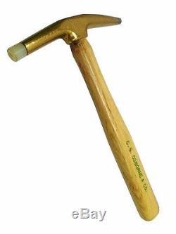 C. S. Osborne #33 #36 Bronze Head Nylon Tip Magnetic Hammer Upholstery