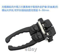 CC-10 Alongitudinal cable cutter outer sheath diameter range 8 30mm stripper