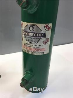 CENTURY FOX 20 Ton Double Action Hydraulic Jack & Pump CP2-20 C2SR-2012