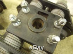 CM Series 635 Low Headroom Trolley 1 Ton 2.5-6 width 1 Lug Mount / bolt on Qt1