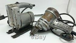 CRAFTSMAN CLARK JIGSAW DRILL Vtg Power Tools Sabre Saw Industrial Heavy Duty LOT