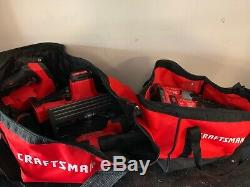 CRAFTSMAN V20 8-Tool 20-Volt Max Power Tool Combo Kit With Soft Case Charger
