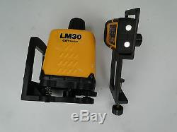 CST Berger Lasermark LM30 LD90 Manual Leveling Dual Beam Rotary Laser Tools