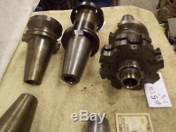 Cat50 Face shell mill tool holder 2-1/2 1-1/2 1-1/4 arbor pilot size Cat 50