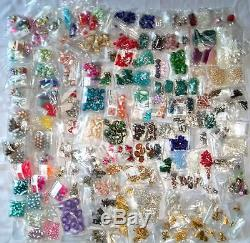 Charm Bead Pearl Stone CRAFT Huge LOT tools beading loom wire findings Jewelry