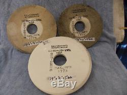 Cincinnati surface grinding wheel 14 x 3/4 x 3 arbor hole 9A46-J6-VRW also 1