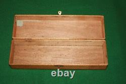 Collection of TEN 10 Vintage Carpenters Woodworking Ice Picks withBox INV#ED49