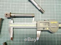 Collets 10 mm Drawbar watchmakers jewelers home workshop lathe