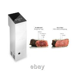 Commercial Sous Vide Immersion Circulator Cooking Tool Stainless Steel CE 1100W