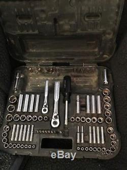 Craftsman 104 piece Mechanic's Tool Set 34104 Made in USA Barely Used