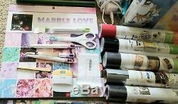 Cricut Explore Air Huge Lot Craft Bundle Vinyl Tools Scrapbooking paper