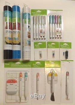 Cricut Tools Vinyl Pen Sets Blades Accessories NEW Lot Bundle