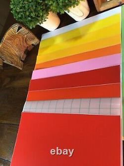 Cricut tool bundle set+ Permanent Adhesive Vinyl Sheets Decor Sticker