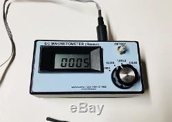 DC Magnetometer gauss meter BSRT, Wizzard, Viper, HO Slot Car Tools