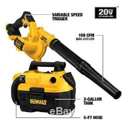 DEWALT 10-Tool 20-Volt Power Tool Combo Kit (Charger/ Batteries Included)