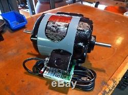 Delta Milwaukee 1/3 HP Motor with Push Pull Switch Plug and Play