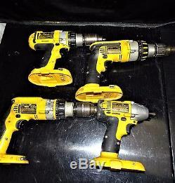 Dewalt 10 Piece 18V CORDLESS Combo Tool Kit DW939 DW938 DC988 DC926 DW989 DW056
