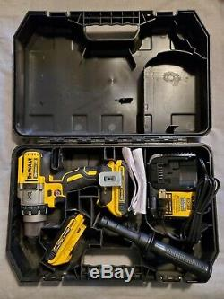 Dewalt XR 20V DCD991- 3 Speed Drill with Hardcase & Handle Batteries & Charger