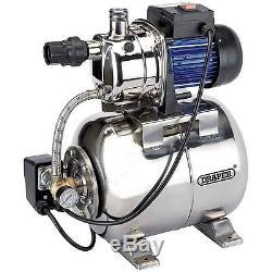 Draper 53l/min (max) 800w 230v Stainless Steel Body Booster Pump For Garden