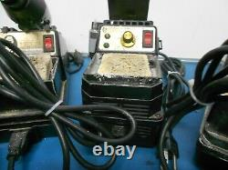 EDSYN LONER PS536 withSoldering Tool & others Soldering Station Lot of 4
