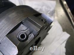 Erickson Tool 5 inch shell face mill CV50 Holder 10 carbide bit inserts milling