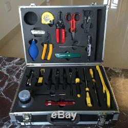FTTH 25 pcs fiber cable toobox with ACS-2 stripper +Miller KS-1 + 45-162 pliers