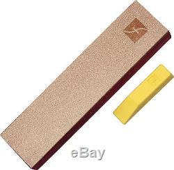 Flexcut Ramelson 16pc Micro Chisel Skew & Strop Woodcarving Tools Canvas Roll