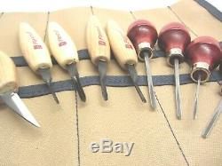 Flexcut Ramelson Wood Carving Crafts Parting Tools Detail Knife V Palm Tools Set