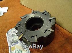 Futurmill 5 shell face mill 1.5 arbor sz. 8 indexable carbide insert facemill