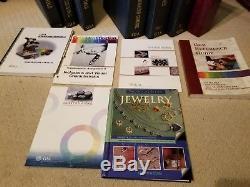 G. I. A. Graduate Gemologist (G. G.) and Jewelry Essentials course books