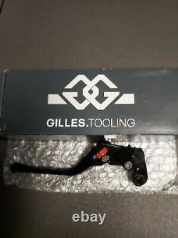 Genuine Yamaha Mt-07 / Mt-09 Gilles Tooling Adjustable Brake & Clutch Lever
