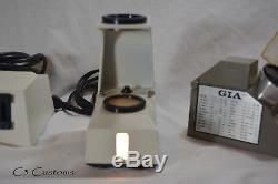 Gia Gem Instruments Polariscope, Refractometer and Utility Lamp
